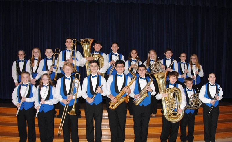 BBJH Students Selected for All-Region Band