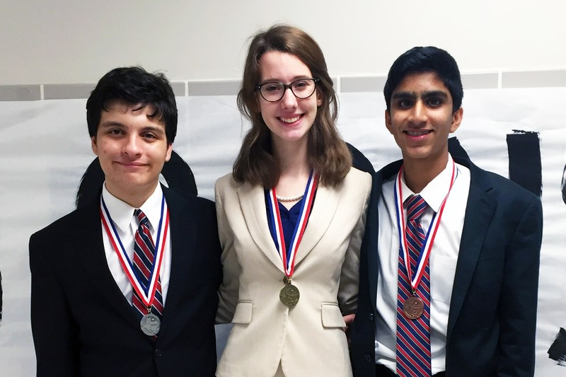 CSISD students sweep district congressional debate tournament