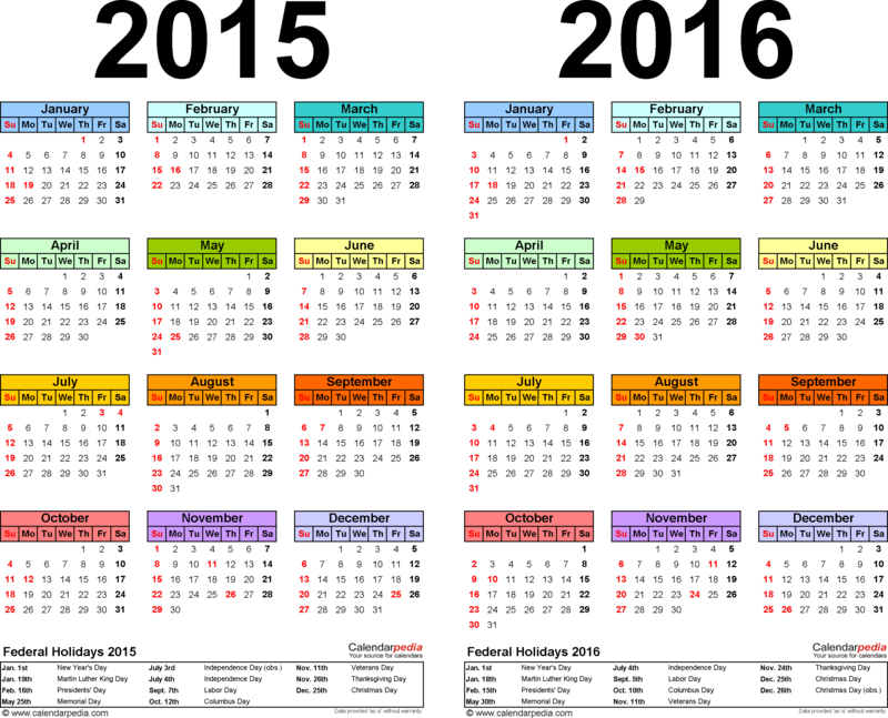 Check out the JFK Calendar (June 2015 - Sept 2016)