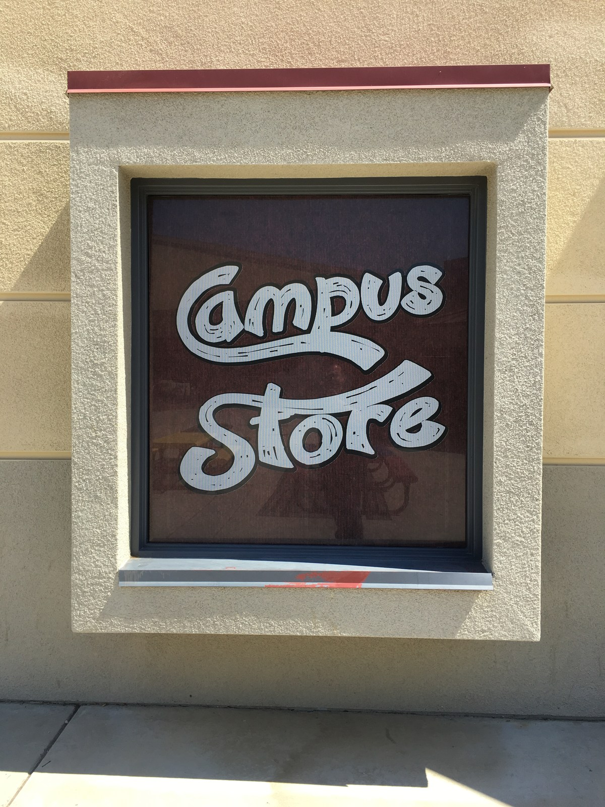 West Valley Student Store Window