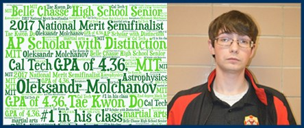 Belle Chasse High School Student is National Merit Semi-Finalist Thumbnail Image