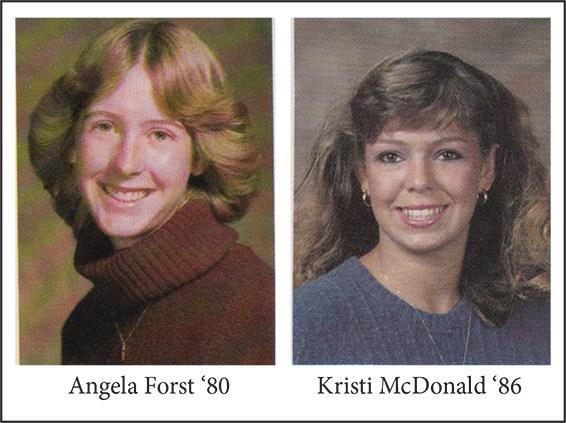 In Memoriam: Angela Forst '80 & Kristi McDonald '86