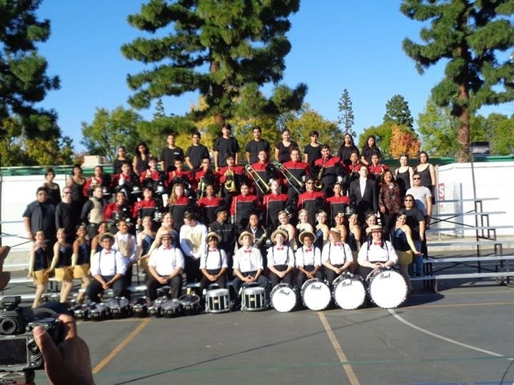 Verdugo Hills HS Dons Marching Band and Color Guard take 1st Place