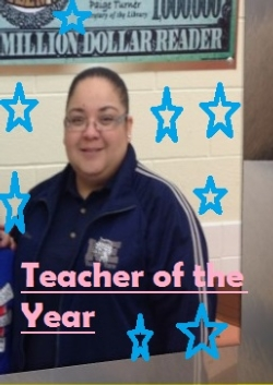 TEACHER OF THE YEAR : ERIKA CANTU FLORES