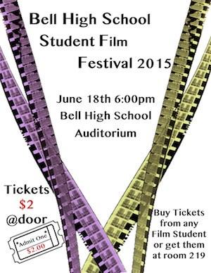 Student Film Festival a Huge Success!
