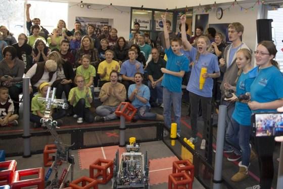 Grandville Robotics Sets National Record