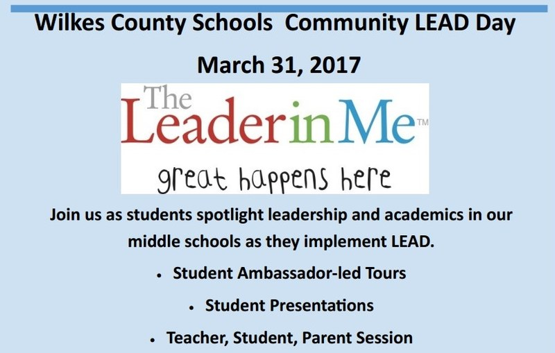 Wilkes County Schools Community LEAD Day Thumbnail Image