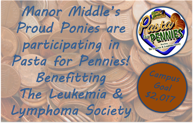 Ponies participating in The Leukemia and Lymphoma Society's Pasta for Pennies fundraiser Thumbnail Image