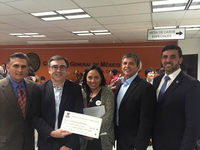 FUTURE SCHOLARS OF BELL RECEIVES A $15,000 GRANT FROM IME BECAS/JUNTOS PODEMOS PROGRAM