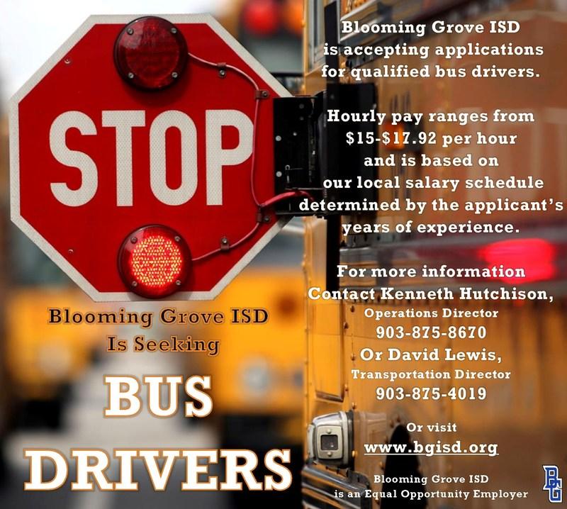 Seeking Bus Drivers Thumbnail Image
