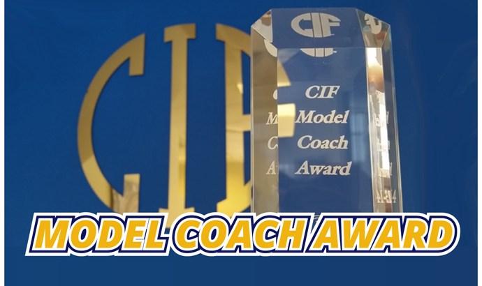 CIF State Model Coach Award Winners Announced