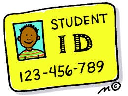 STUDENT Temporary ID/Meal 'Cards' Issued on First Day of School