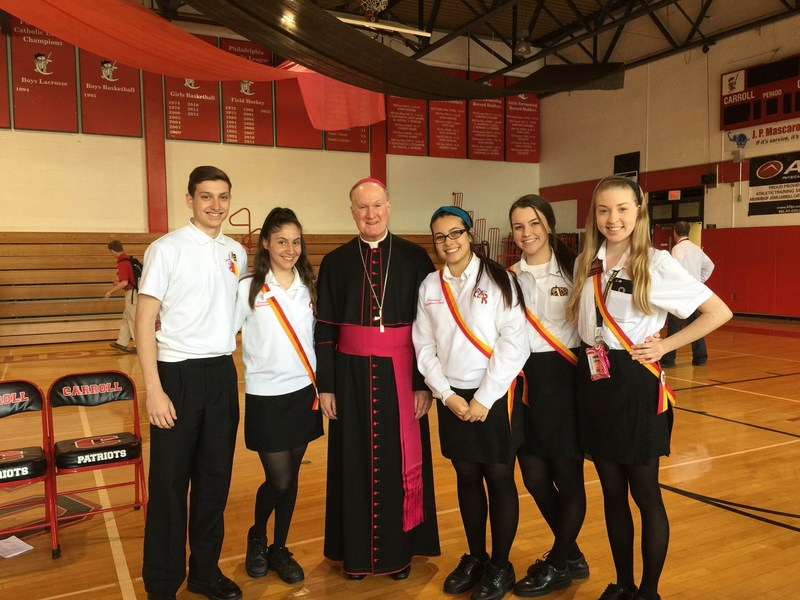 Archbishop Ryan Leads the Way for the Catholic Charities Appeal