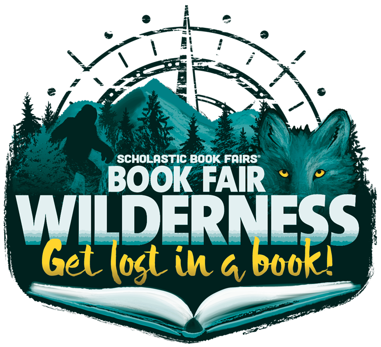 Scholastic wilderness book fair logo