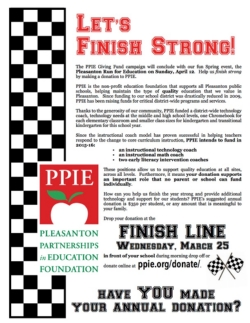PPIE Run for Education