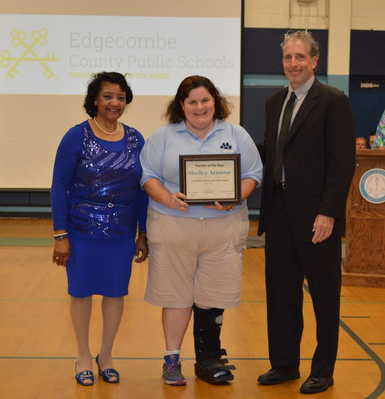 Armour selected as ECPS Teacher of the Year Thumbnail Image