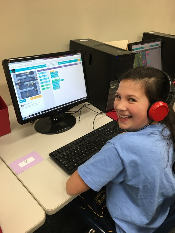 MAA PARTICIPATES IN HOUR OF CODE