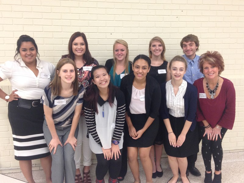 Future Educators Advanced to State Competition