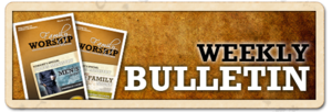 Weekly Bulletin for the week beginning February 8