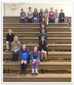 Congratulations to the Bulldogs of Jacobsen Middle School, this week's Attendance Achiever with a 95.95%!!!