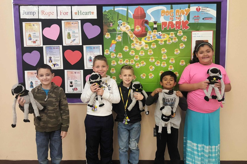 """Jump Rope for Heart """"Top Dog"""" Winners"""