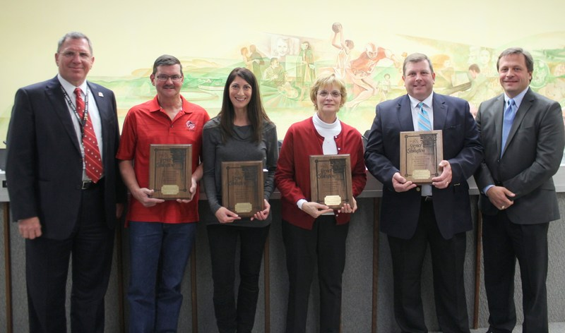 Four Honored for Service to Education Thumbnail Image