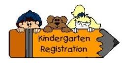 KINDERGARTEN REGISTRATION 2015/2016