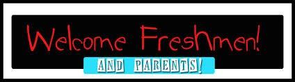 Freshman Parent Information