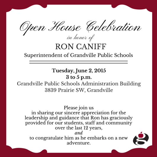 Open House Celebration 3-5 p.m. on June 2 at Administration Building