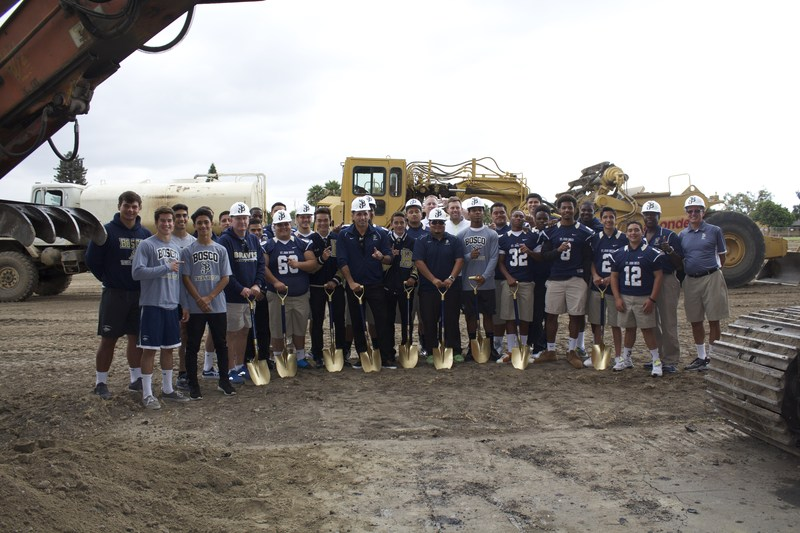 St. John Bosco High School Breaks Ground on New Athletic Complex and Learning Commons
