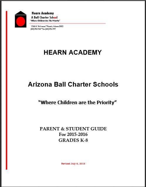 2015-2016 Student Handbook