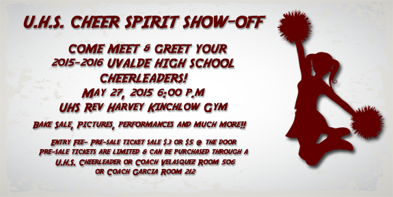 U.H.S. Cheer Spirit Show-Off