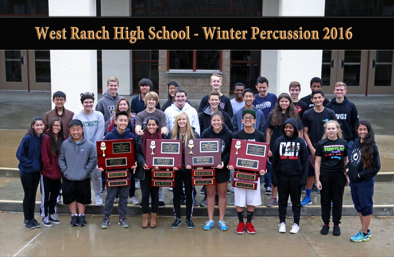 West Ranch HS Percussion Awarded Major Grant