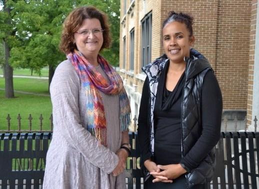 Audiologists Deb Liebrich & Shannon Stafford