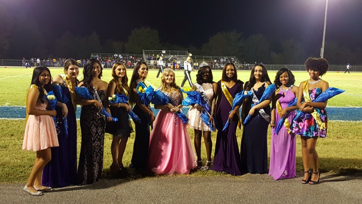 Fayette-Ware High School's 2016 Homecoming Court Thumbnail Image