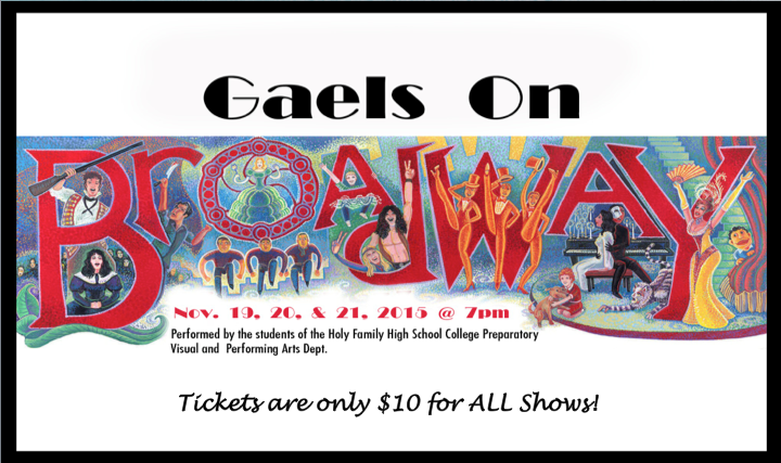 Last Performance for Gaels on Broadway