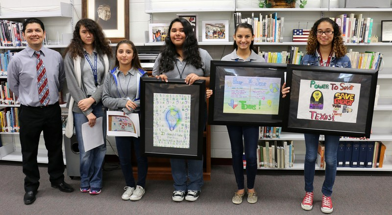 White Jr. High students win Public Utility Commission poster contest