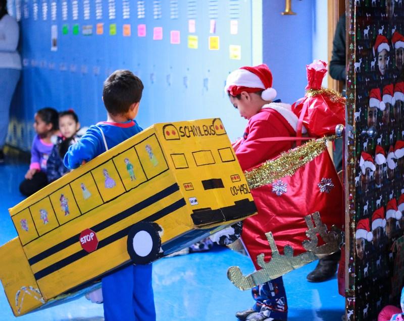 A+ Academy Elementary | The Polar Express Parade Thumbnail Image