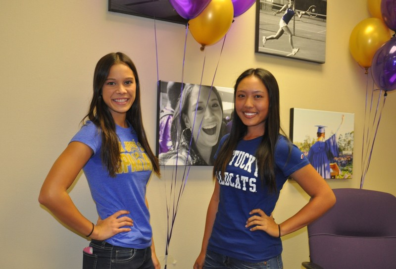 Lady Brahmas sign national letters of intent