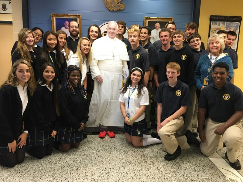 """Walking with Francis at Spirit"" - IN CROCS!"