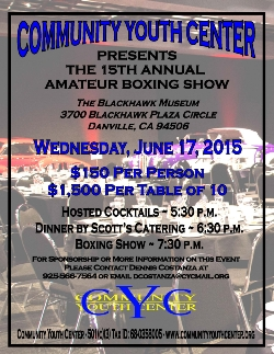 15th Annual Amateur Boxing Show