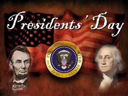 Happy Presidents' Day holidays (Feb. 13 & 20, 2017) Thumbnail Image