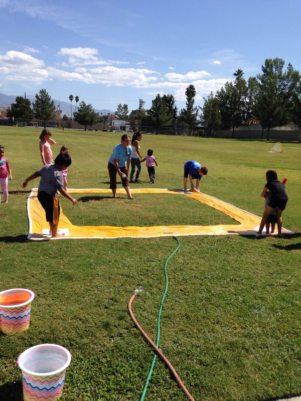 Jacob Wiens Students Participated in Nickelodeon's World Wide Day of Play