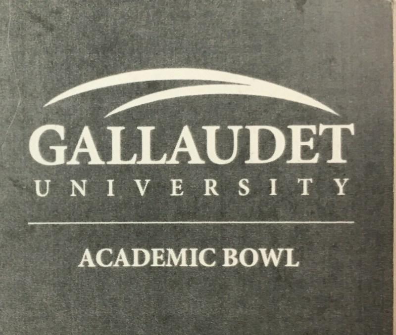 Gallaudet University Academic Bowl