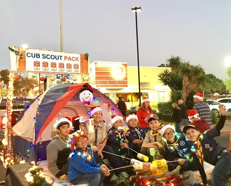 Cub Scout Thanksgiving Food Drive – 29 bags of food from GO! Thumbnail Image