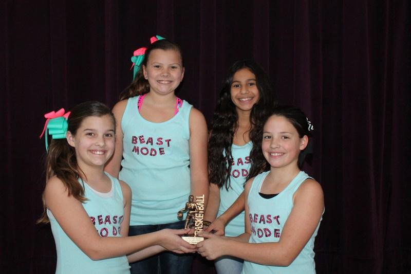 Girls 3-on-3 Basketball Champions